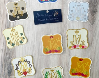 Complete Marian Auspice Sticker Pack