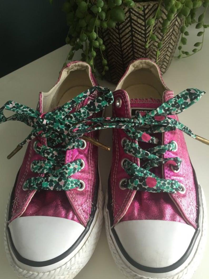Liberty print Tana Lawn Pebble Bay Shoe Laces