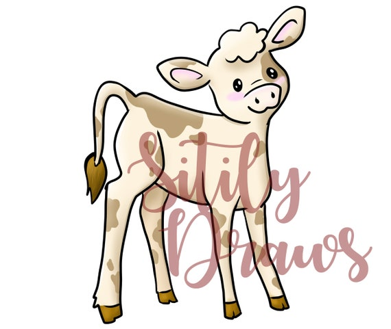 Farm Animal And Barn Clipart Cute Cartoon Baby Farm Animals