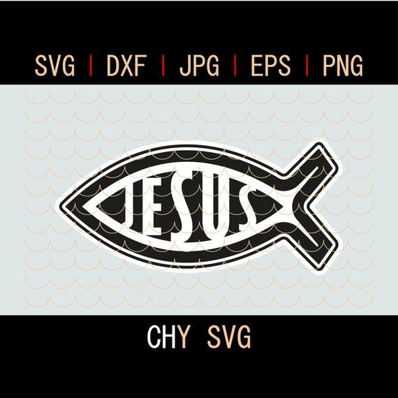 Christian Fish Svg Christ Svg Christian Svg Christian Shirt Etsy