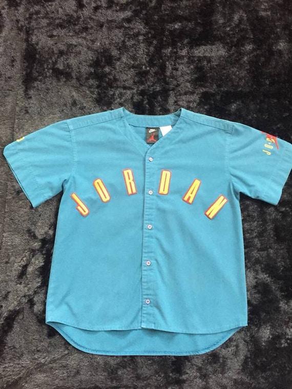 Vintage Jordan Baseball Jersey