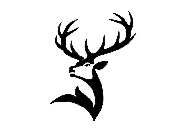 Deer SVG File / Deer Head SVG / Deer Clipart / Deer Head | Etsy