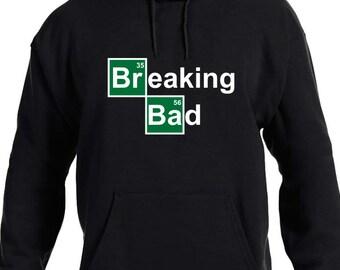 Breaking Bad Heisenberg College Hooded Sweater Uomo con Cappuccio Pullover
