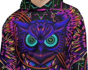 EDM Vibe Electronic Dance Music Rave Theme Custom Design Graphic Hoodie Sweatshirt for Men Women