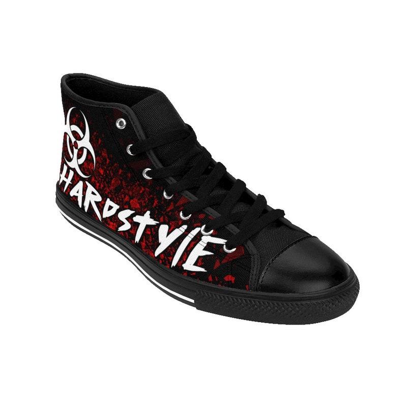 Hardstyle Shoes Hardstyle Clothing Rave Shoes EDC Gabber Rawstyle Basscon Jumpstyle QDance Edm Shoes Rave Outfit