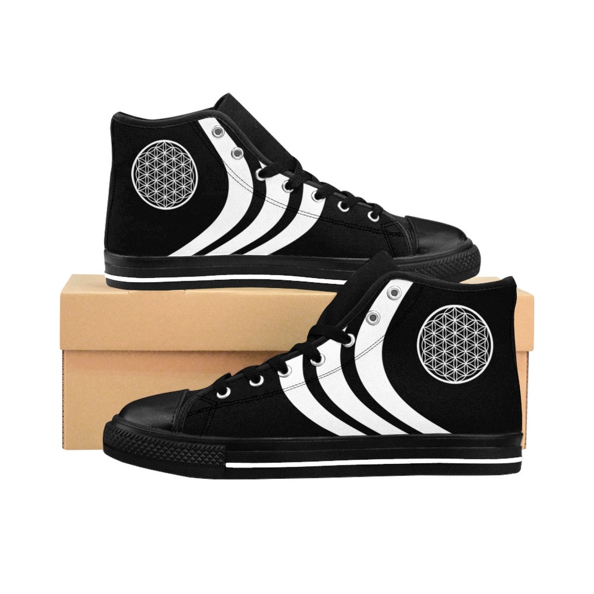 6c19e206981c Adidas Shoes and Converse Shoes Inspired Sacred Geometry