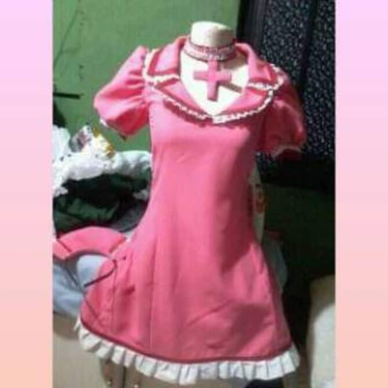 Cosplay Meiko Vocaloid costume dress adult Nurse version