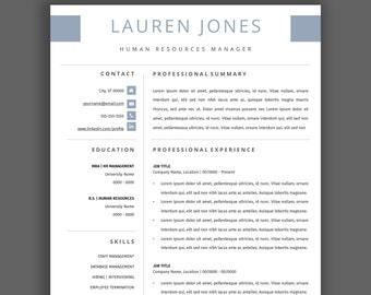 professional resume template 2 page resume for apple pages word