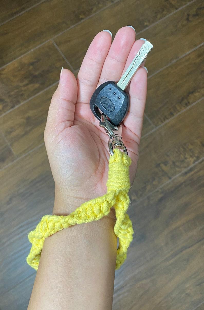 Macrame Wristlets Keychain  Keychain