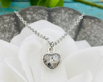 Custom Ash Memorial ~ Cremation Jewelry ~ Cremains ~ Pet Memorial Bereavement ~ Pet Loss Ring Urn Necklace with Ashes Cremation Pendant