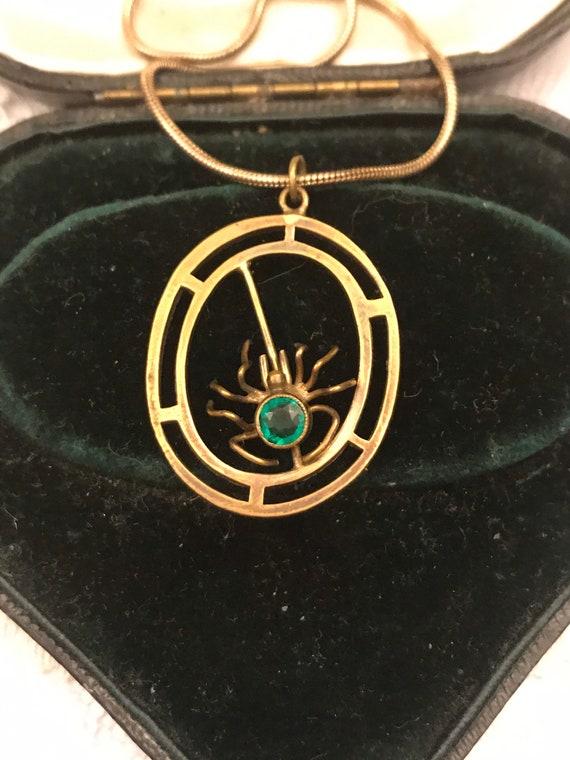 Victorian Jewellery, Victorian Drop Pendant, Victo