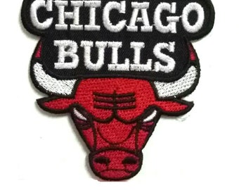 NBA Chicago Bulls patch DIY Iron On Sew Embroidered Applique Patch New f849cd6a4ae