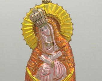 Our Lady of Ostra Brama, Religious Christmas Ornaments