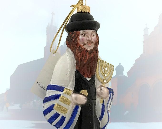 Jew Man, Jewish Holiday Ornaments