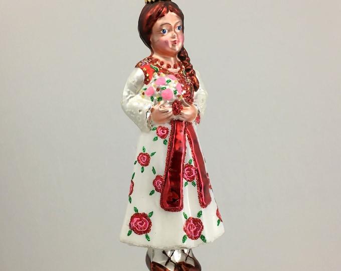 Goralka, girl from Zakopane