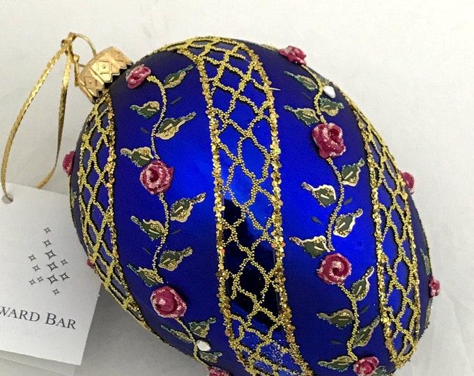 Sapphire Egg, Spiral Rose