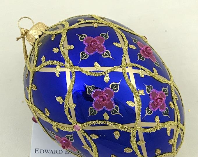 Sapphire Egg, Wild Rose