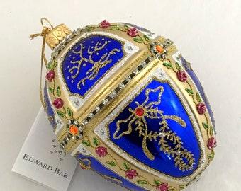 Sapphire Egg, Tsarevich Garlands