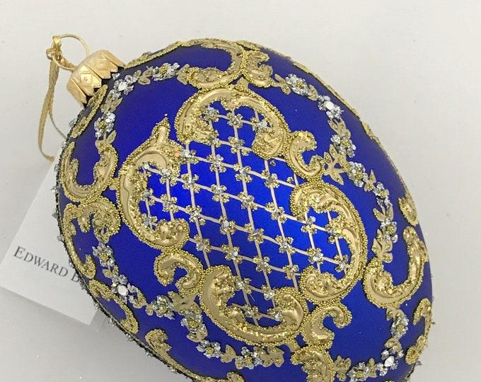 Royal Blue Egg, ORNAMENTAL