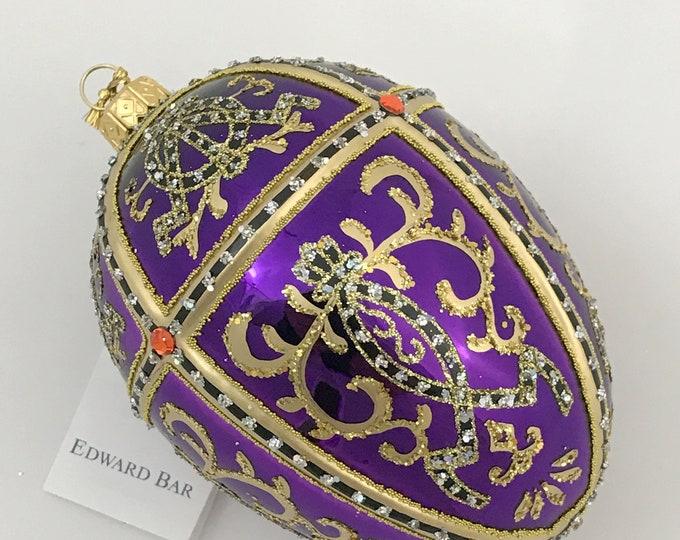 Glossy Violet Egg, ORNAMENTAL