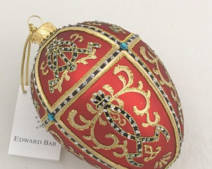 Red Matt Egg, ORNAMENTAL