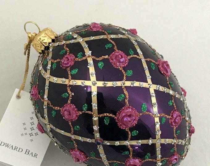 Violet Egg, Rose OnTrellis