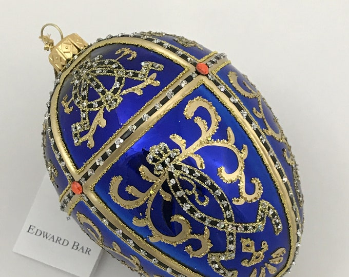 Glossy Sapphire Egg, ORNAMENTAL