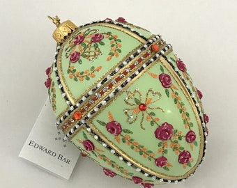 Light Green Egg, Gatchina Palace, Easter Egg ornaments
