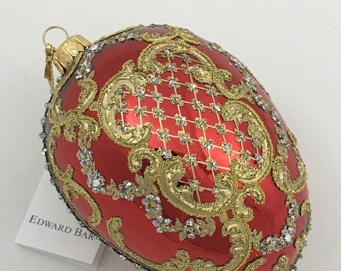 Glossy Red Egg, ORNAMENTAL