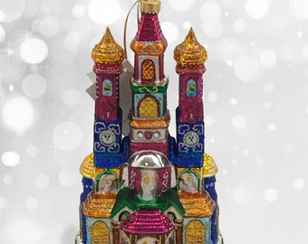 Krakow Christmas Crib, Glass Christmas Ornament