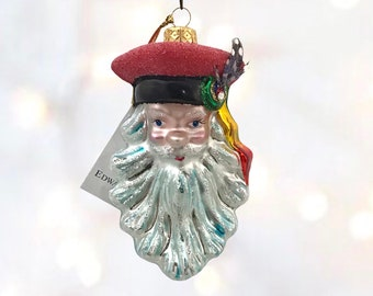 Santa head ornament, Krakowiak