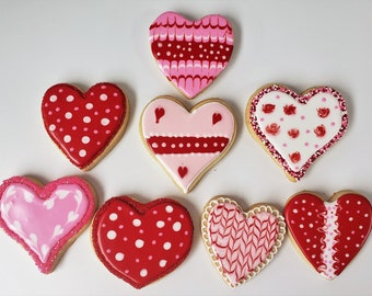 Love 24 VALENTINE CONVERSATION HEART Fortune Cookies Thank You Birthday Valentine/'s Anniversary Mother/'s Day Missing You
