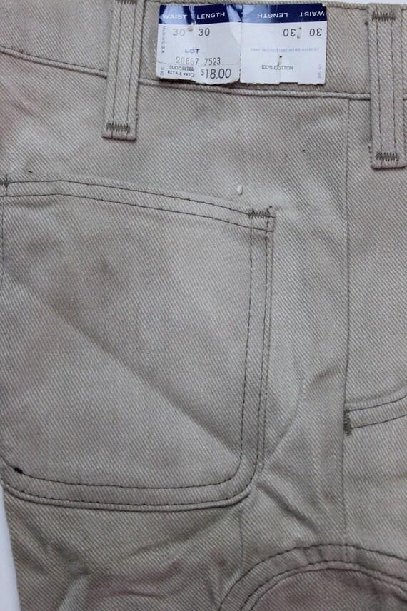 "Vintage Grey/Beige Levi's (12"") Bell Bottoms Pants"