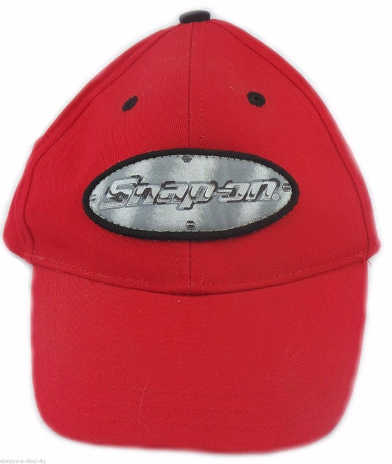 3T Red Toddler Hat Official Licensed Snap-On 2T