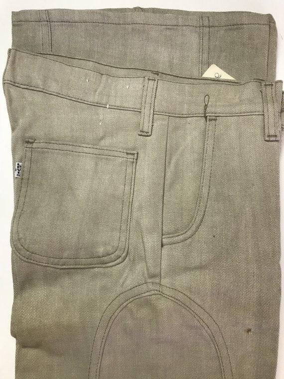 """Vintage Beige Levis (12"""") Bell Bottom Pants/Jeans"""