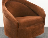 Adrian Pearsall Swivel Rocking Lounge Chair for Craft Associates Inc. Mid Century Modern, 1960s
