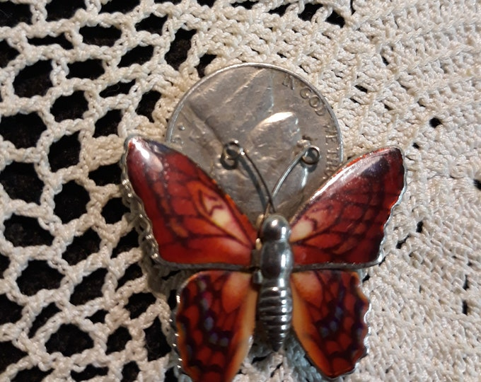 Reserved  for Judy Adorable butterfly brooch, craft jewelry, Adornments, Brooches for picture frame art, Embellishments