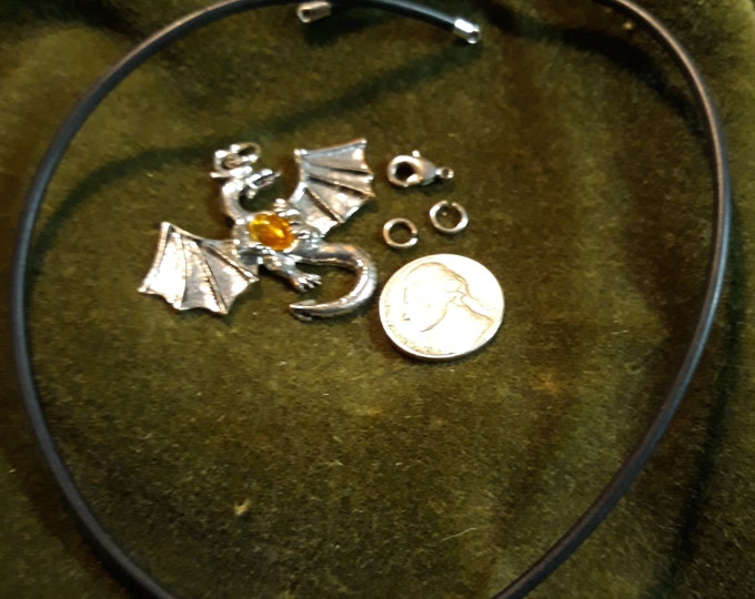 Cheap vintage necklace kit for wear or repurpose, jewelry making and crafts, Father's Day gift under 5