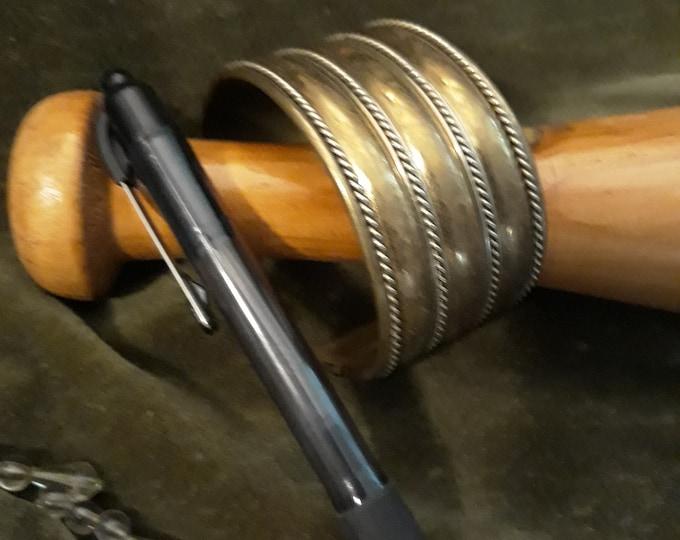 Unique vintage Tribal cuff bracelet, tribal jewelry, Boho bracelet cuff, Bohemian jewelry