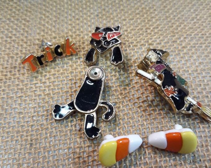 Halloween craft kit, Diy craft jewelry, Lot of Halloween jewelry