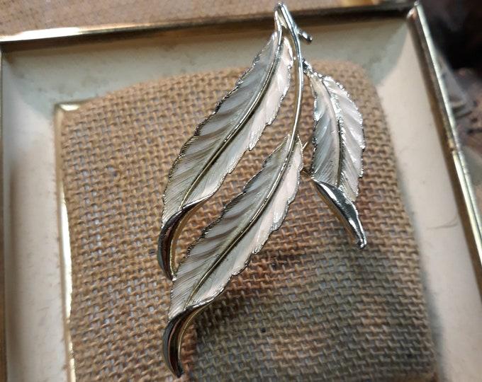 Coro designer brooch, Destash designer jewelry, signed jewelry, signed brooch