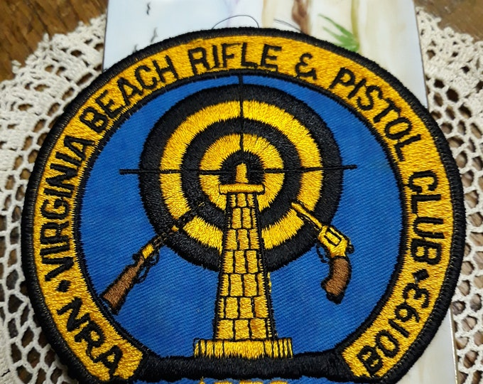 CLEARANCE >>>Vintage 1972 NRA patch