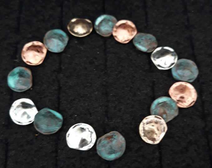 Bracelet pieces kit, connectors, make and wear or repurpose, Christmas gift