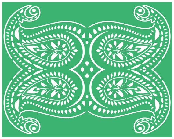 home decor,home and living,stencils svg cutting files,paisley,designs,arts,crafts,Silhouette svg cut files,digital download,paint,furniture