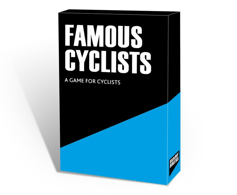 BRAINY BIKERS  Famous Cyclists image 0