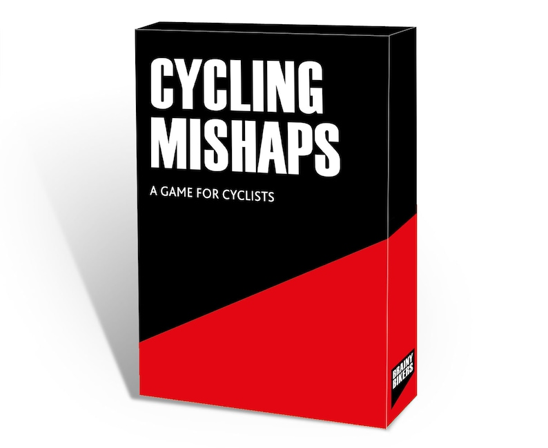 BRAINY BIKERS  Cycling Mishaps image 0