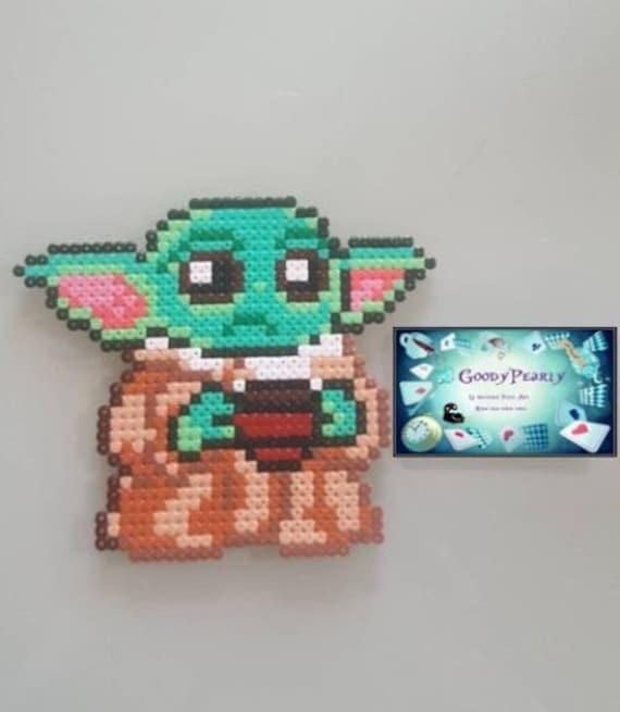 Sprite Baby Yoda The Mandalorian Disney Star Wars Perles Etsy