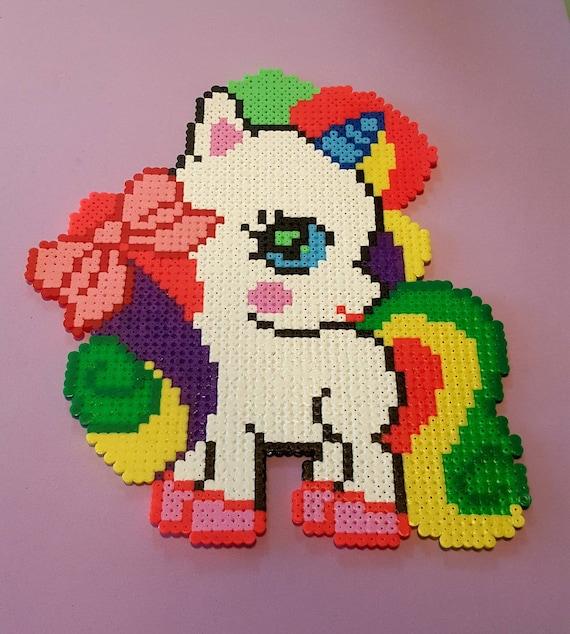 Sprite Licorne Hama Beads Perles Hama Pixel Art