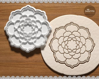 Mandala Cookie Cutter. Biscuit Plastic Cutter. Cake Decor. Gift Idea. Candy  making. Baking. 3D printed.  2 d4c109f99dd