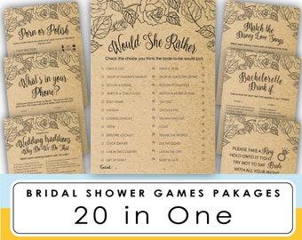 bridal shower game printable over or under games wedding shower games bachelorette party bridal shower game printable